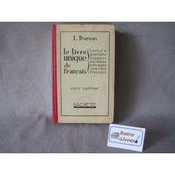 Le livre unique de français...