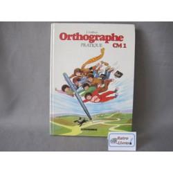 Orthographe pratique CM1 J.Galibert Delagrave 1989