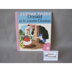 Donald et le cousin Glouton Album rose Hachette