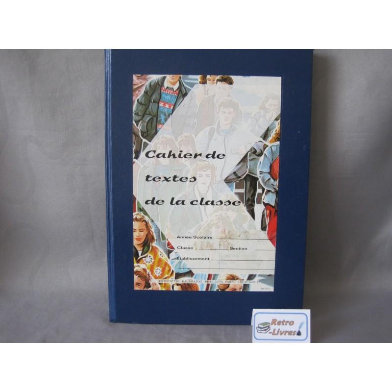 Cahier de textes de la classe vintage kalamazoo