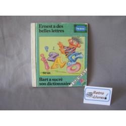 Ernest a de belles lettres Sesame street