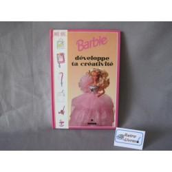 Barbie Développe ta créativité livre loisirs créatifs