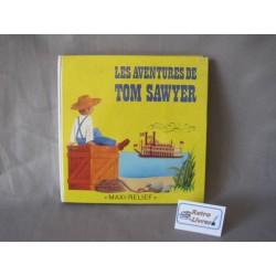 Les aventures de Tom Sawyer Livre pop-up vintage