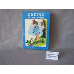 Nadine et son chien Touret 1975