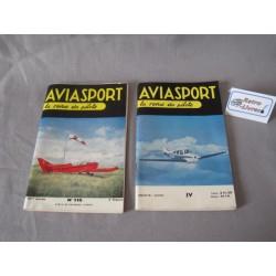 Aviasport Lot de deux numéros