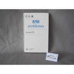 850 problèmes CLR niveau CE