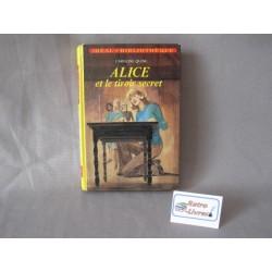 Alice et le tiroir secret Bibliotheque verte