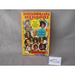Dictionnaire des variétés...
