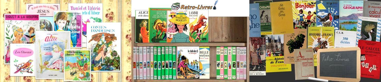 Les livres de votre enfance, livres et magazines jeunesse vintage